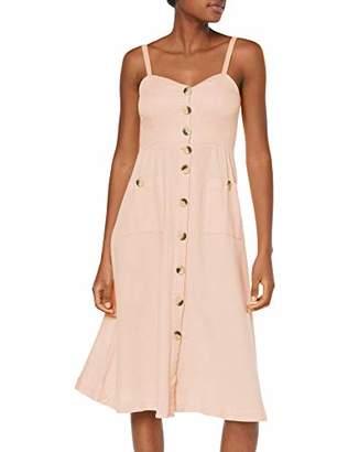 Vila CLOTHES Women's Vikaluna Dress Tb/Ki,- (Manufacturer size: )