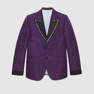 Gucci Brocade jacquard evening jacket