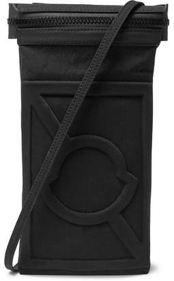 Craig Green Moncler Genius 5 Moncler Leather-Trimmed Canvas Messenger Bag