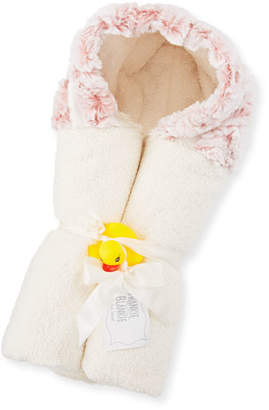 Swankie Blankie Riley Hooded Towel, Pink