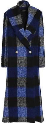 Paper London Double-Breasted Brushed Felt Coat