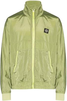 Stone Island stand-collar zip-front jacket