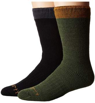 Carhartt Arctic Thermal Crew Socks 2-Pair Pack Men's Crew Cut Socks Shoes