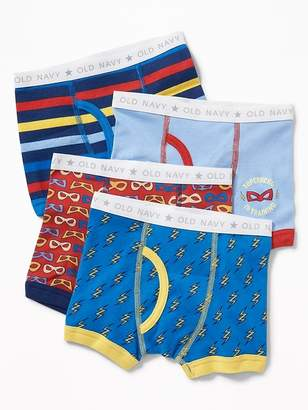 Old Navy Printed Boxer-Briefs 4-Pack for Toddler Boys