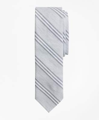 Brooks Brothers Stripe Cotton Oxford Tie