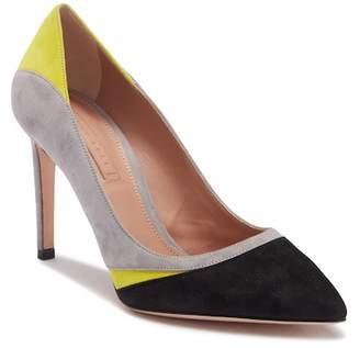 BOSS Color-block Point Heel