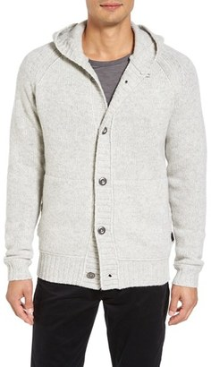 Men's Victorinox Swiss Army Engine Hooded Button Cardigan $275 thestylecure.com