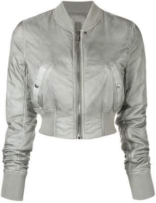 Rick Owens cropped bomber jacket