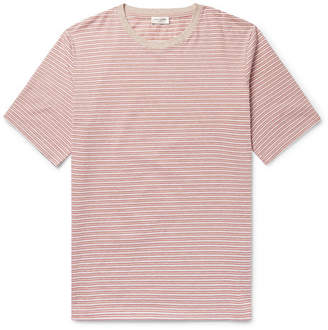 Saint Laurent Striped Cotton T-Shirt