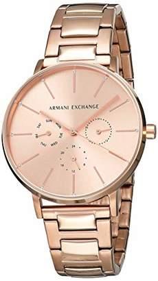 Armani Exchange Women's 'Lola' Quartz Stainless-Steel-Plated Watch