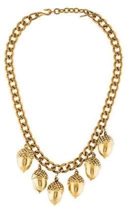Acorn Collar Necklace