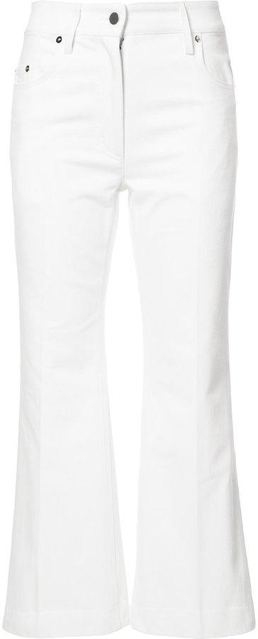 Calvin KleinCalvin Klein cropped trousers