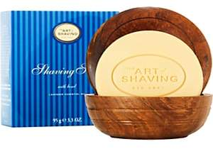 The Art of Shaving Men's Shaving Soap & Bowl - Lavender