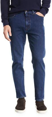 Ermenegildo Zegna Straight-Leg Denim Jeans
