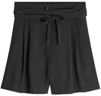 Marc Jacobs Shorts with Self-Tie Belt
