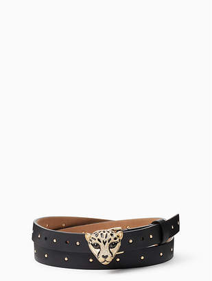 "Kate Spade 3/4"" Cheetah Buckle Belt"