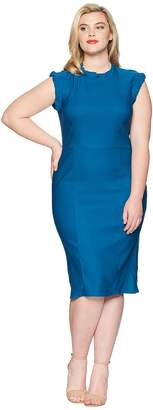 Unique Vintage Plus Size Laverne Wiggle Dress Women's Dress