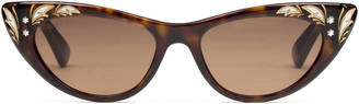 Cat eye sunglasses $415 thestylecure.com