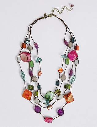 Marks and Spencer Assorted Bead & Shell Necklace