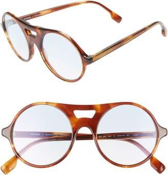 Morgenthal Frederics MONSE X Robin 52mm Round Sunglasses