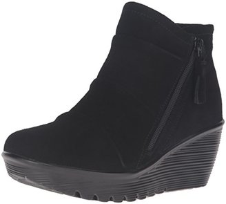 Skechers Women's Parallel-Triple Threat Ankle Bootie $67.26 thestylecure.com