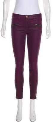 Current/Elliott Soho Stiletto Mid-Rise Skinny Pants