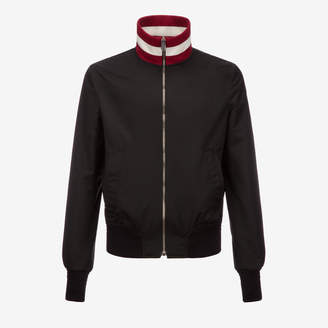 Bally Stripe Collar Nylon Jacket