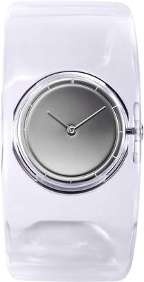 Issey Miyake O Women's Quartz Watch with Dial Analogue Display and Transparent Resin Bangle SILAW001