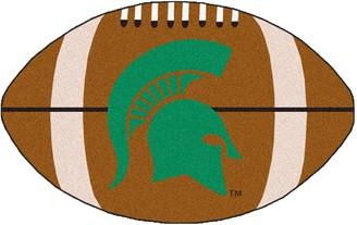 NCAA Fanmats FANMATS Michigan State Spartans Football Rug