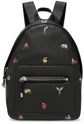 Alexander Wang Berkeley Embossed Pebbled-Leather Backpack