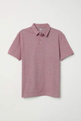H&M Polo Shirt Slim fit - Red