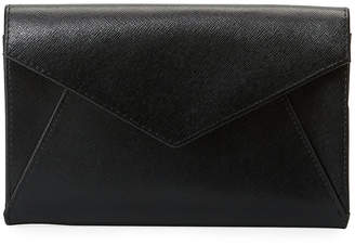 Neiman Marcus Saffiano Envelope Wallet on a String