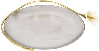 Michael Aram Calla Lily Round Plate