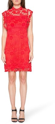 Women's Willow & Clay Lace Shift Dress $119 thestylecure.com