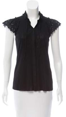 Vivienne Tam Short Sleeve Top