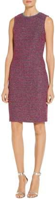 St. John Velvet Luster Knit Dress