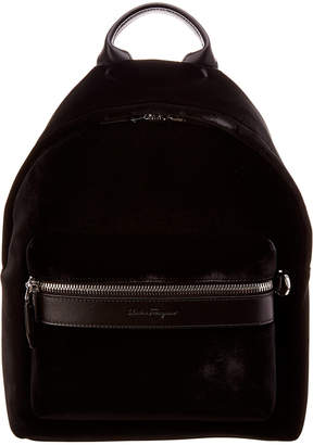 Salvatore Ferragamo Velvet Backpack