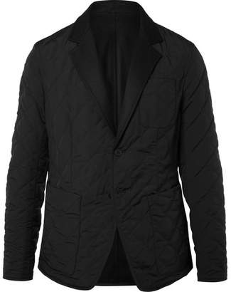 Bottega Veneta Reversible Wool-Felt And Quilted Shell Blazer
