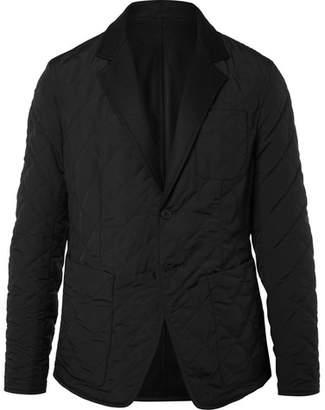 Bottega Veneta Reversible Wool-Felt And Quilted Shell Blazer