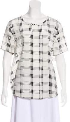 Equipment Femme Short Sleeve Printed Top