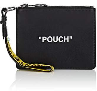 Off-White Women's Flat Double Leather Pouch