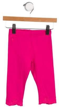 Polo Ralph Lauren Girls' Eyelet-Trimmed Leggings