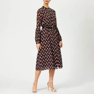 897805beff84e6 MICHAEL Michael Kors Women s Midi Dress with Belt