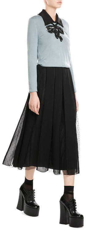 Marc JacobsMarc Jacobs Wool Cardigan with Sequins