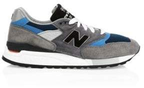 New Balance Made In The USA 998 Suede Sneakers