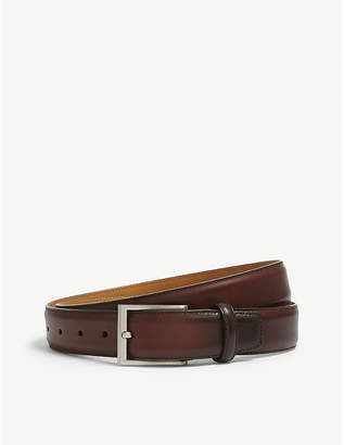 Magnanni Catania burnished leather belt