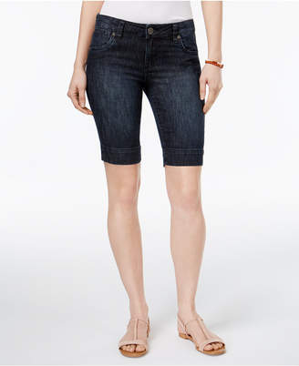 KUT from the Kloth Petite Natalie Denim Shorts