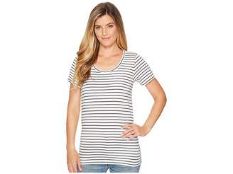 Pendleton Short Sleeve Pima Stripe Tee