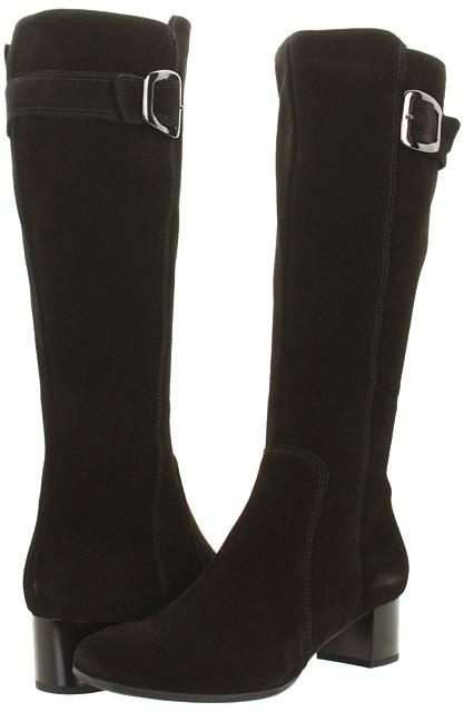 La Canadienne Jada (Black Suede) - Footwear