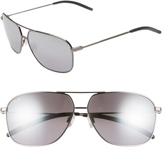 89e1481589 Maui Jim Kami 62mm PolarizedPlus2® Aviator Sunglasses